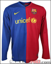 2008/09 Barca Jersey (Soccerpro)